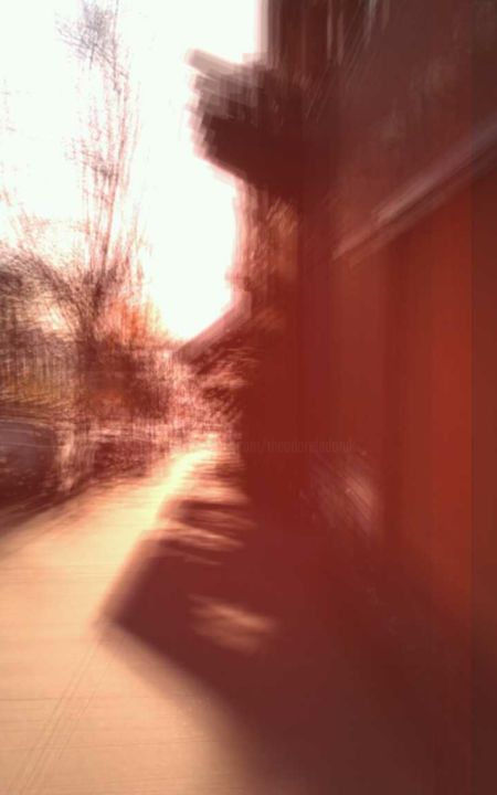 """Photography titled """"Afternoon-shadow"""" by Theodore Fedoruk, Original Art, Digital Photography"""
