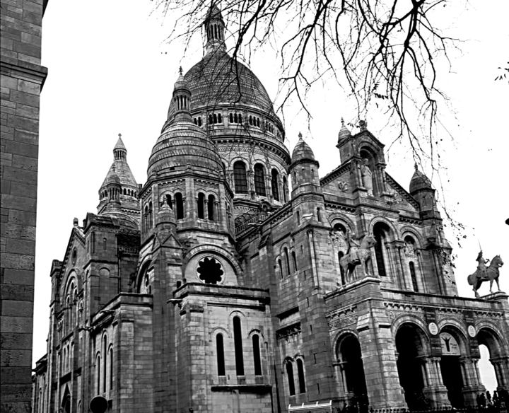 Montmartre - Photography, ©2020 by Thierry Bressan -