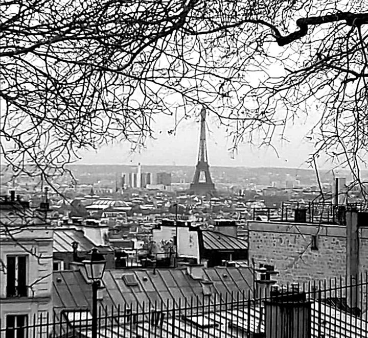 Paris - Photography, ©2020 by Thierry Bressan -