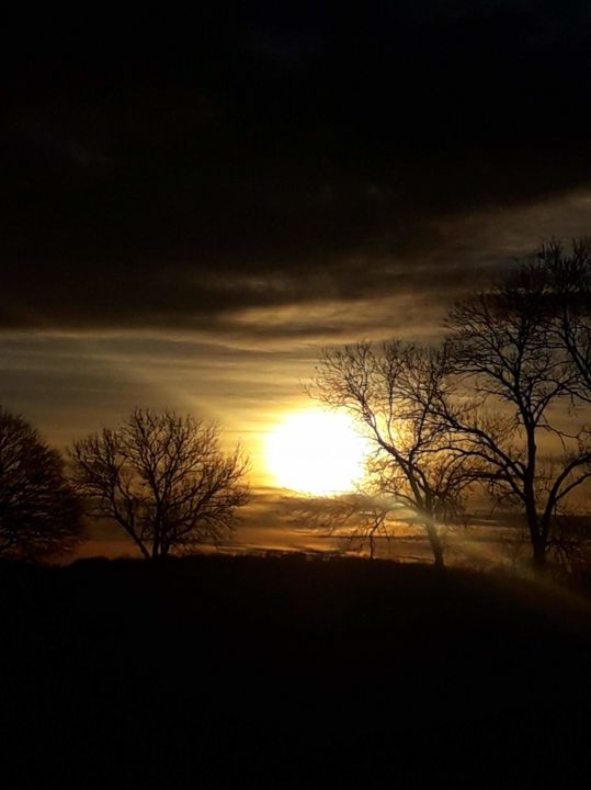 Le soleil - Photography, ©2020 by Thierry Bressan -