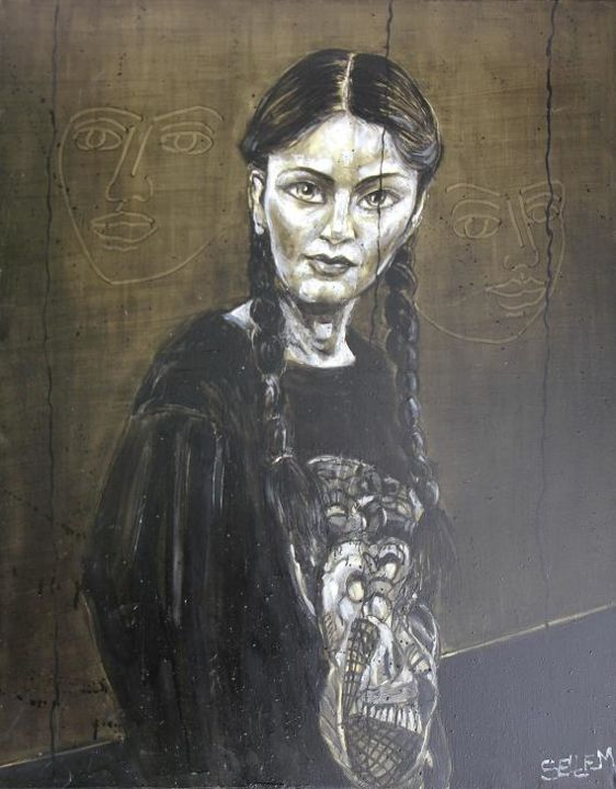 yi-yi-a1-92x73.jpg - Painting ©2013 by Thierry Sellem -