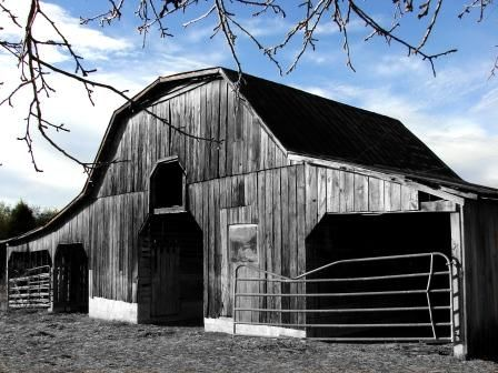"""Photography titled """"The Barn 1"""" by Tony Taylor, Original Art,"""