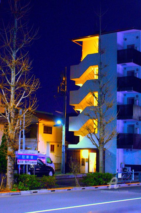 Setagaya2 - Photography ©2017 by Tina Lane -                                                            Architecture, Asia, Cities, Cityscape