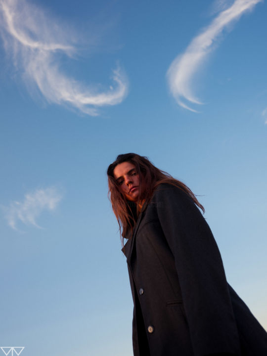 """Photography titled """"Head in the Sky"""" by Tomás Vieira, Original Art, Digital Photography"""