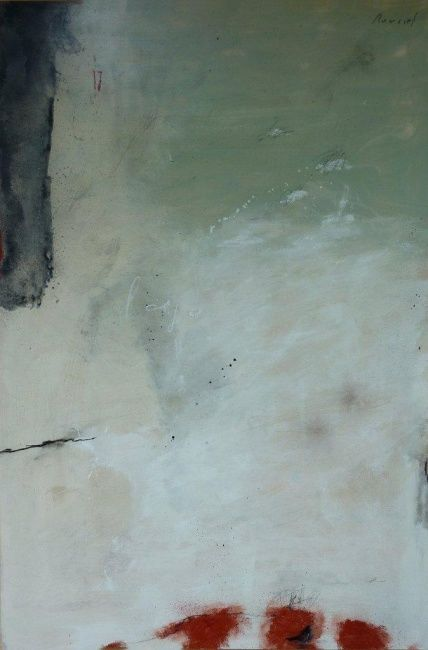 lago 2 - Painting,  47.2x31.5 in, ©2011 by Philippe Roussel -