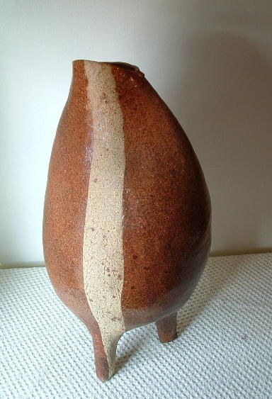 Ceramic Pot #5 - Sculpture,  22x12 in, ©2007 by Diane Tremaine -
