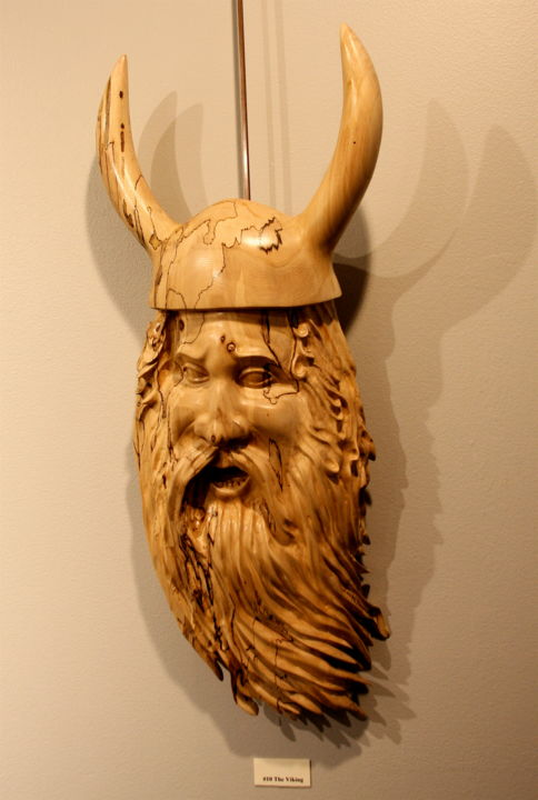 Viking - Sculpture, ©2014 by Diane Tremaine -
