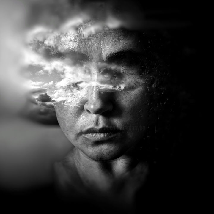 """Photography titled """"Comfortably Numb"""" by Tanya Solonyka, Original Art, Manipulated Photography"""