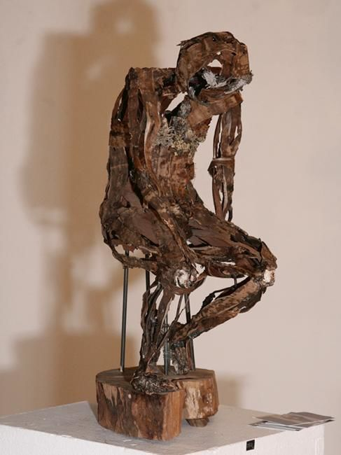 Sculpture, wood, artwork by Marie Tucat