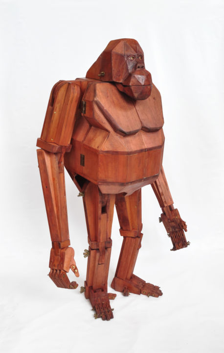 Sculpture, wood, artwork by Alessandro Turoni
