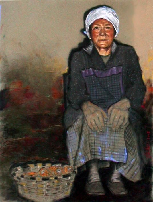 No Title - Painting ©2004 by Txitxi Orbegozo -