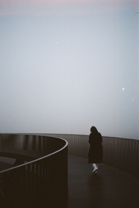 """Photography titled """"The fog"""" by Ulrika L, Original Art, Analog photography"""