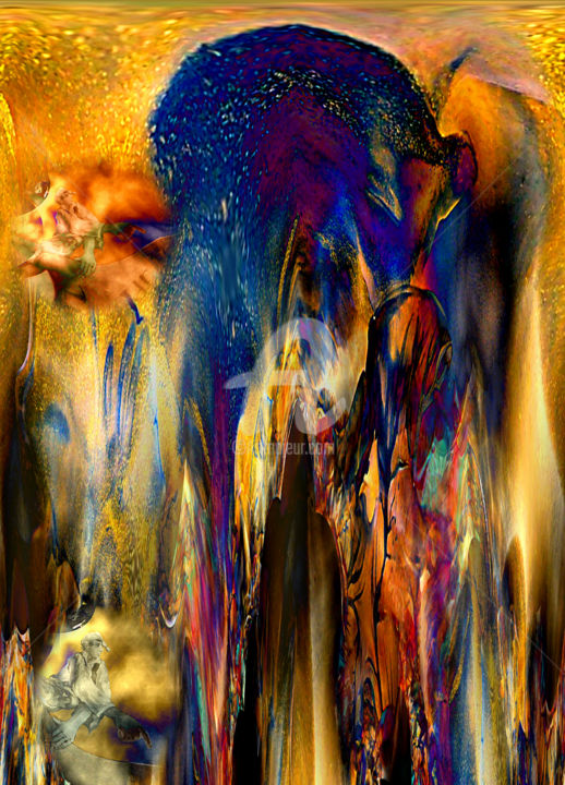 Lichtreflexe pur   Digital-ART limitiert (01/10) - Digital Arts ©2017 by Ulrike Kröll -                                                                                                                                                Abstract Art, Modernism, Other, Abstract Art, Botanic, Seasons, Light, Fairytales, Nature, Fantasy, Sonne, Leuchten, Sonnenstrahlen, Sommer, Schönheit, Inspiration, Fantasie, Reflektionen, Kunstwerk, Blau, Licht, Farbkreationen, Brechung, Elegance, Lichtreflexe, farbig, Leben, Glanz, schweben