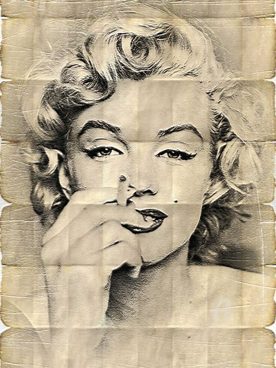 Marilyn Monroe phenomena (Preview print)