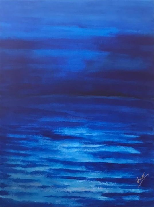 """Painting titled """"Abstract painting n…"""" by Muhammad Umer Farooq, Original Art, Acrylic"""