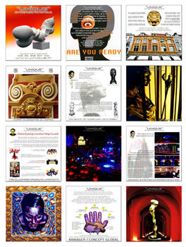 "BROCHURE COMMERCIALE ""UNIQUE"" - Digital Arts ©1 by Devy Giardina -"