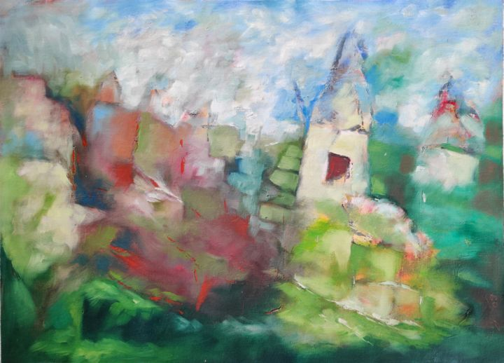 """Painting titled """"Untitled"""" by Unknow Artist, Original Art, Acrylic"""