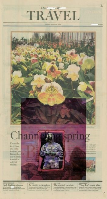 Censored: Challenging Spring - Painting ©2005 by Linda Vallejo -