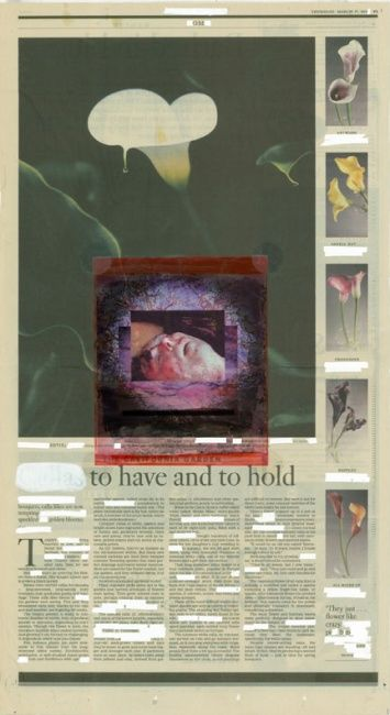 Censored: To Have and to Hold - Painting ©2005 by Linda Vallejo -