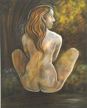 My Mother is the Earth - Painting ©2004 by Linda Vallejo -