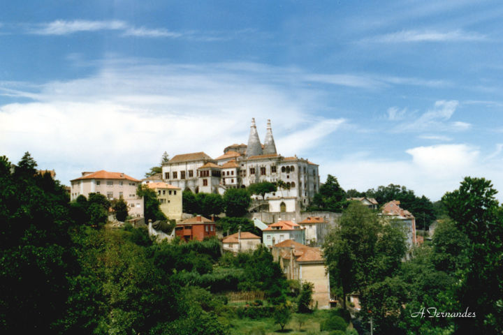 """Photography titled """"Sintra - Portugal"""" by Vasco Fernandes, Original Art, Analog photography"""