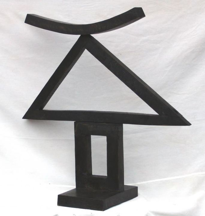 """Sculpture titled """"homage to picasso"""" by Vasyl, Original Art,"""