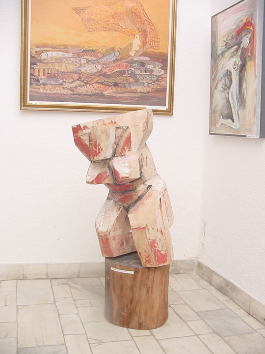 """Sculpture titled """"The first variant o…"""" by Vasyl, Original Art,"""