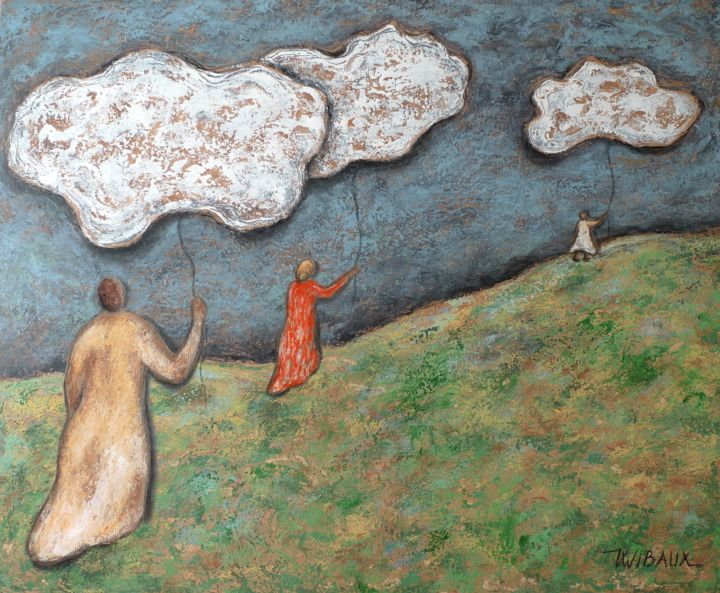 Procession de nuages - ©  nuages, poésie, procession Online Artworks