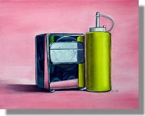 """Painting titled """"Still Life III"""" by Vic Vicini, Original Art,"""