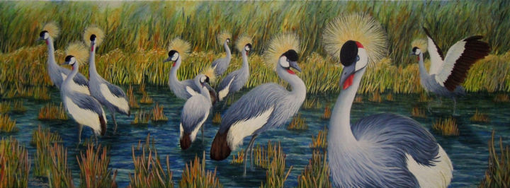 """Painting titled """"You've Got to Have…"""" by Victoria Armstrong, Original Art,"""