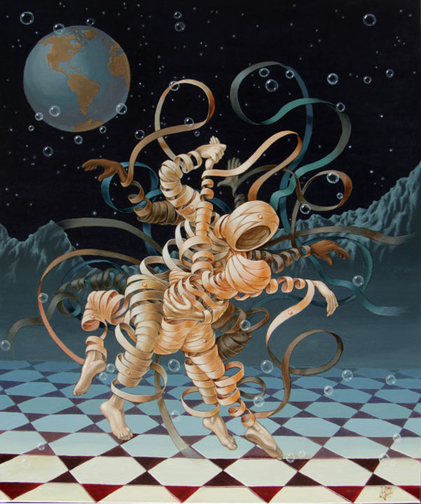 Lunar Tango In Space And Time Victor Molev