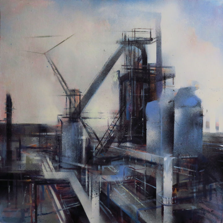 Industry Painting By Wiktoria Balawender Artmajeur