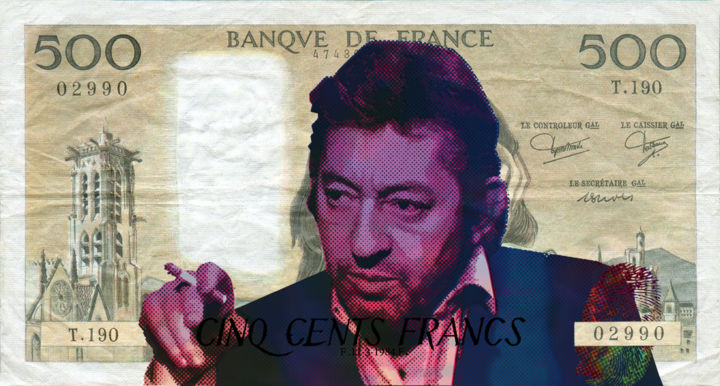 7 sur 7 / you've kiss the pop - © 2018 gainsbourg, popart, neopop, vincentsabatier, resinart, sergegainsbourg Online Artworks
