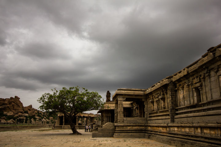 """Photography titled """"The old temple"""" by Vishesh Unni Raghunathan, Original Art,"""