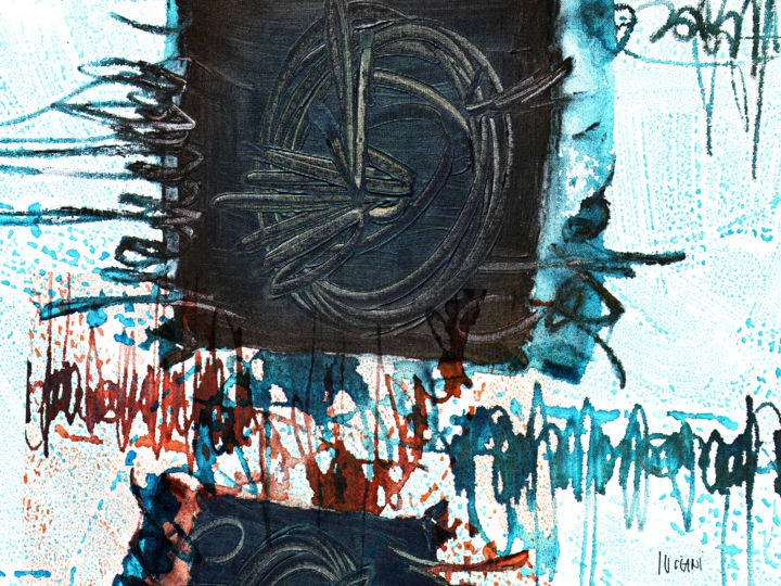 Abstract Digital Arts, digital painting, abstract, artwork by Peppeluciani