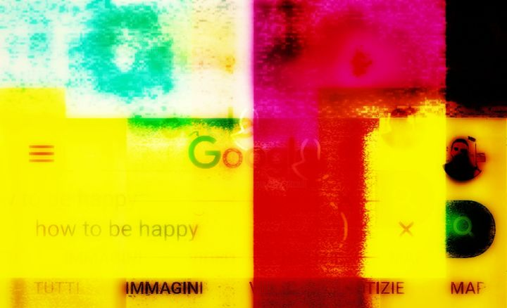 How to be happy - Incisioni, stampe,  19,7x31,5x0,4 in, ©2019 da #Bigboh -