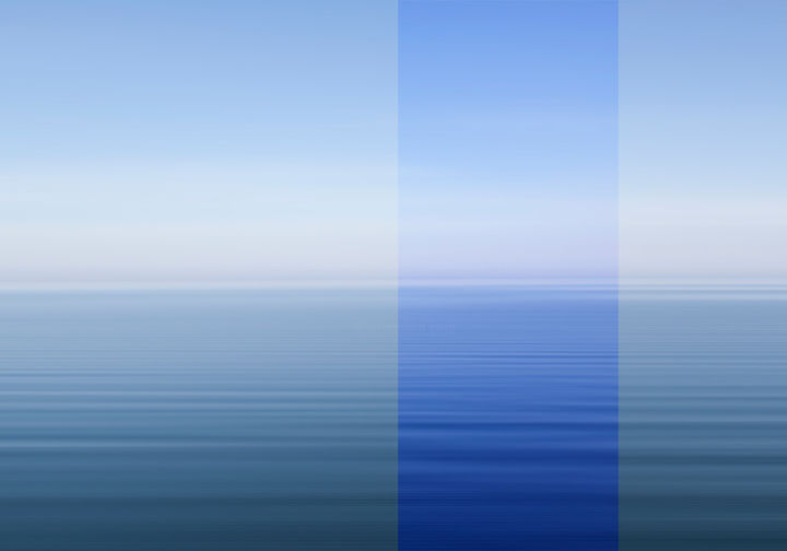 """Photography titled """"Blue part of the Sea"""" by Vitomirov, Original Art, Digital Photography"""
