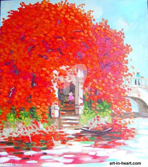 """Painting titled """"thanhnv3-10"""" by Thanhvan Ngo, Original Art,"""