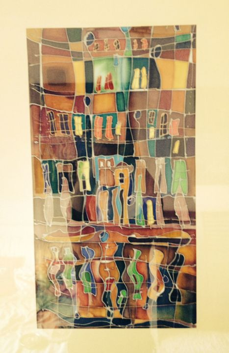 Textile Art, other, abstract, artwork by Marzena Walczuk