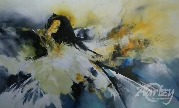 """Painting titled """"Rise of the Fairy Q…"""" by Wasantha Ranjan, Original Art, Acrylic Mounted on Stretcher frame"""