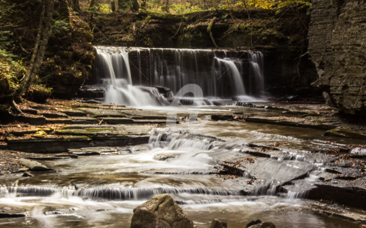 Redreaming the Glen Series. 2 - Photography, ©2014 by Redreamer -                                                                                                                                                                                                      Water, Waterfalls, Landscapes, Autumn