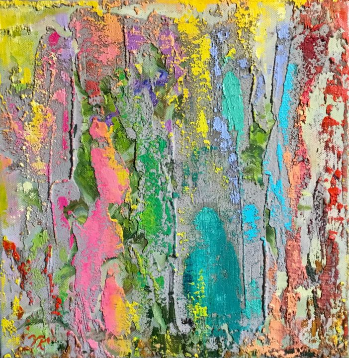 """Painting titled """"""""Spazierengang"""""""" by Vera Klimova, Original Art, Oil"""