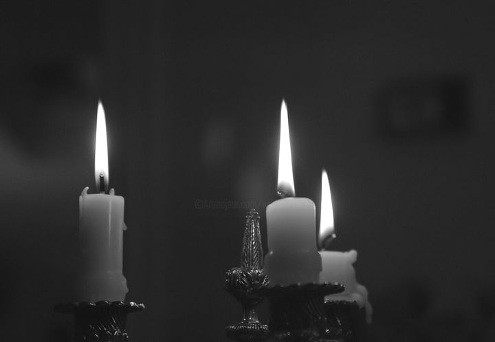 """Photography titled """"Candles.jpg"""" by William Olexik, Original Art,"""