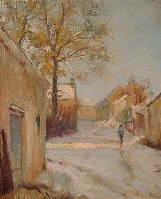 """Painting titled """"After Alfred"""" by William Dunn, Original Art, Oil"""