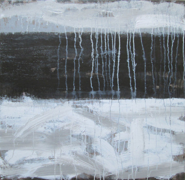 """Painting titled """"No 1.Black and ligh…"""" by Xuan Khanh Nguyen, Original Art, Acrylic"""