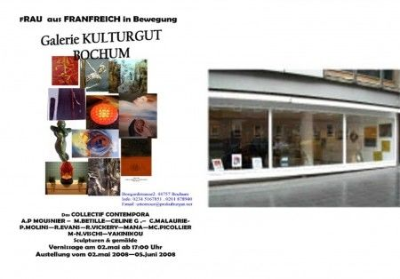 Colcolllective EXPOSURE IN GERMANY in Bochum May / June 2008 - Kulturgut Gallery