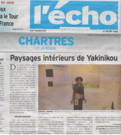 """Chartres EXHIBITION """"Fragments of Reality"""""""