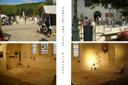 GROUP EXHIBITION SANILH'ART 2009 - Dordogne 9th ART FAIR