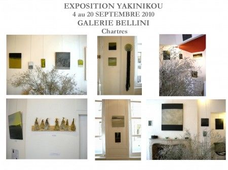 EXHIBITION GALLERY BELLINI - CHARTRES