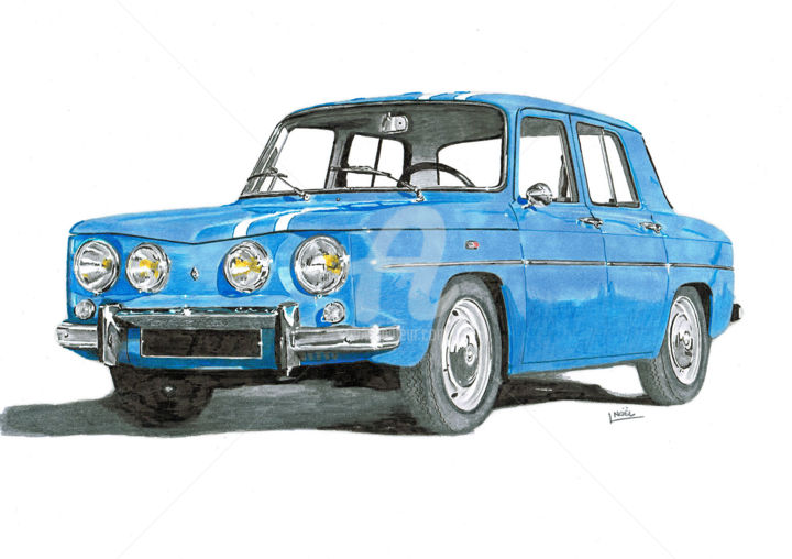 renault 8 gordini dessinludo. Black Bedroom Furniture Sets. Home Design Ideas